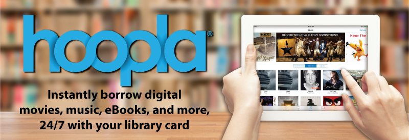 Your public library at your fingertips.